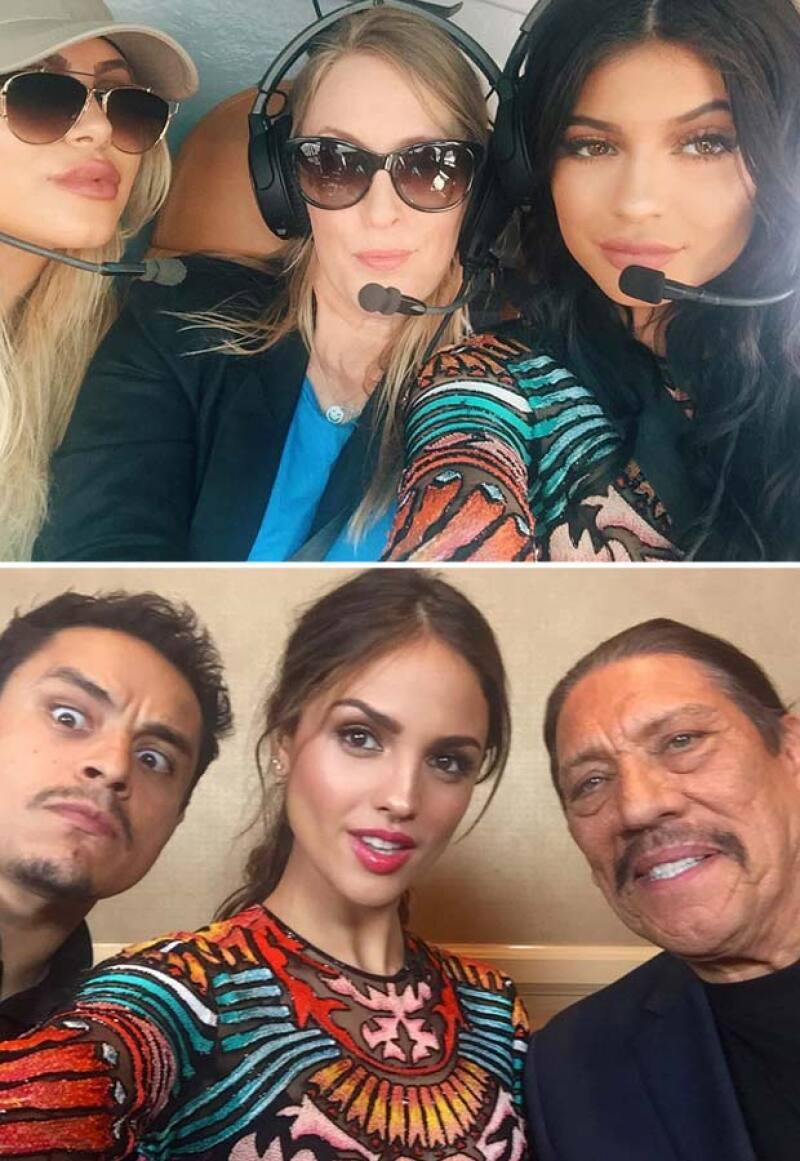 E incluso ambas presumieron el mini vestido Nicolas Jebran con selfies en su perfil de Instagram.