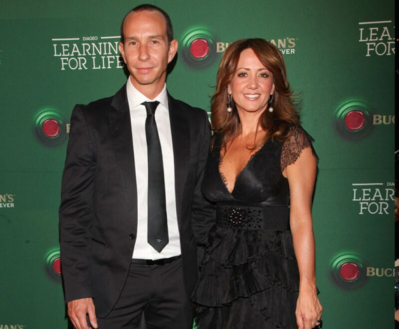 Andrea Legarreta y Erik Rubín forman una de las parejas más estables de la esfera del espectáculo nacional. Se casaron hace casi 14 años y tiene dos hijas hermosas: Mia y Nina.