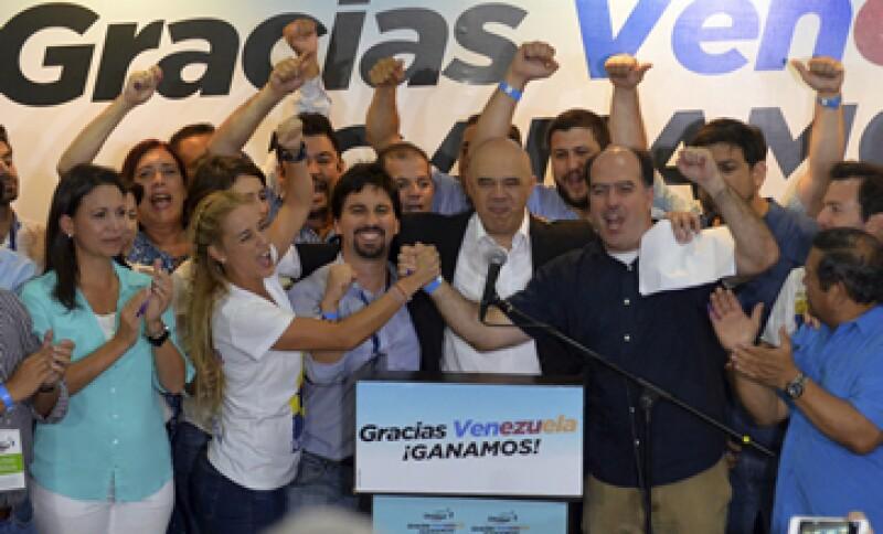 En caso de lograr dos terceras partes de la Asamblea, la oposición podría poner en riesgo el oficialismo chavista. (Foto: AFP)