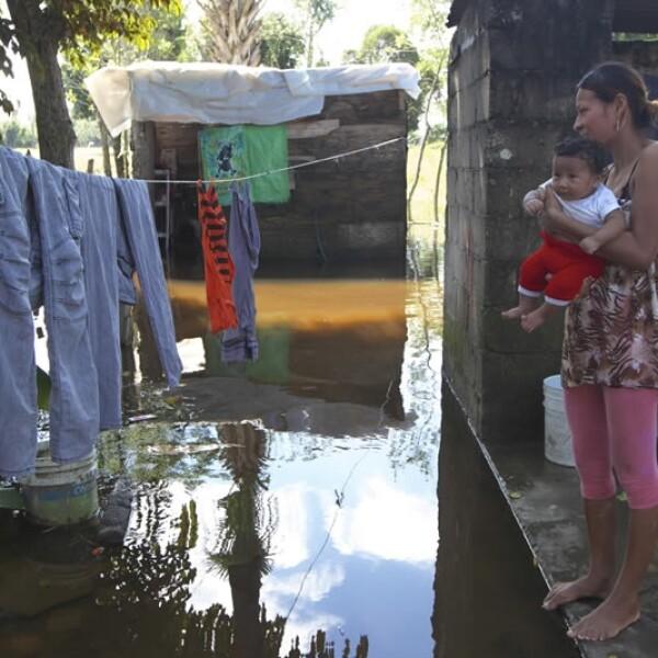 Lluvias e inundaciones en Tabasco