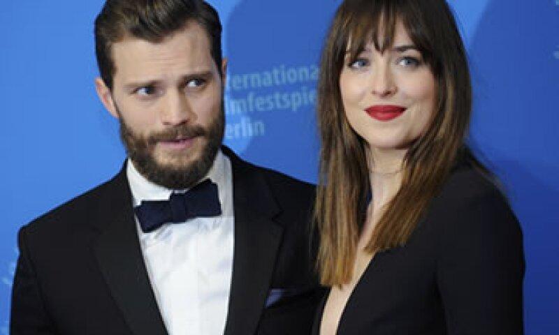 La película Cincuenta sombras de Grey tuvo un presupuesto de producción de 40 mdd. (Foto: Reuters )