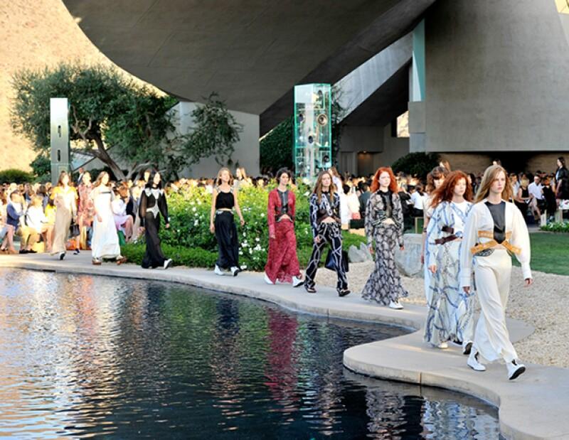 Louis Vuitton presentó su colección crucero en Palm Springs.