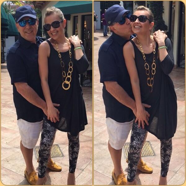 Desde divertido hasta coqueto, Tommy ha tomado más confianza para interactuar con Thalía y sus redes sociales.