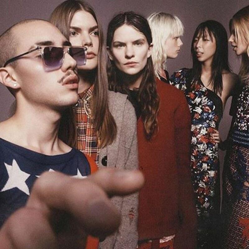 Eliot y Lucie forman parte de la nueva campaña de Marc Jacobs.