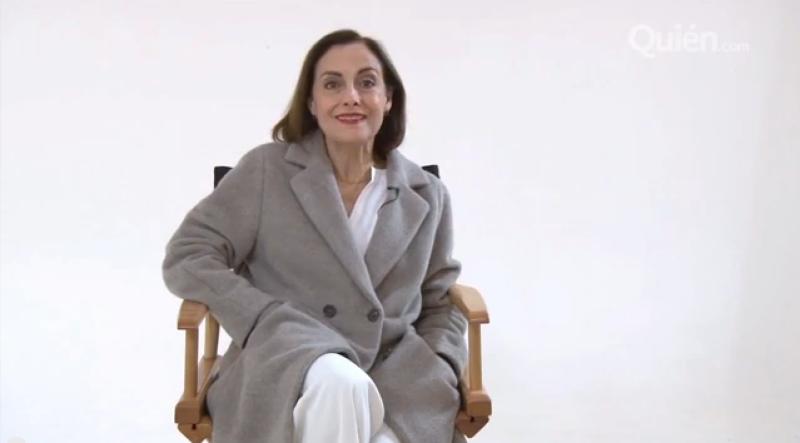 La actriz nos comparte el tipo de valores que admira en una mujer y la lista de personalidades que la inspiran.