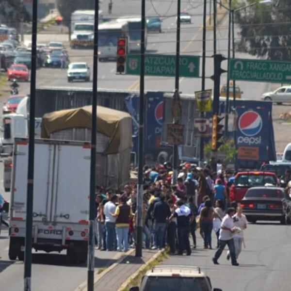 Michoacán bloqueos 1