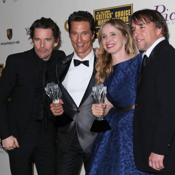 Ethan Hawke, Matthew McConaghey, Julie Delpy y Richard Linklater.