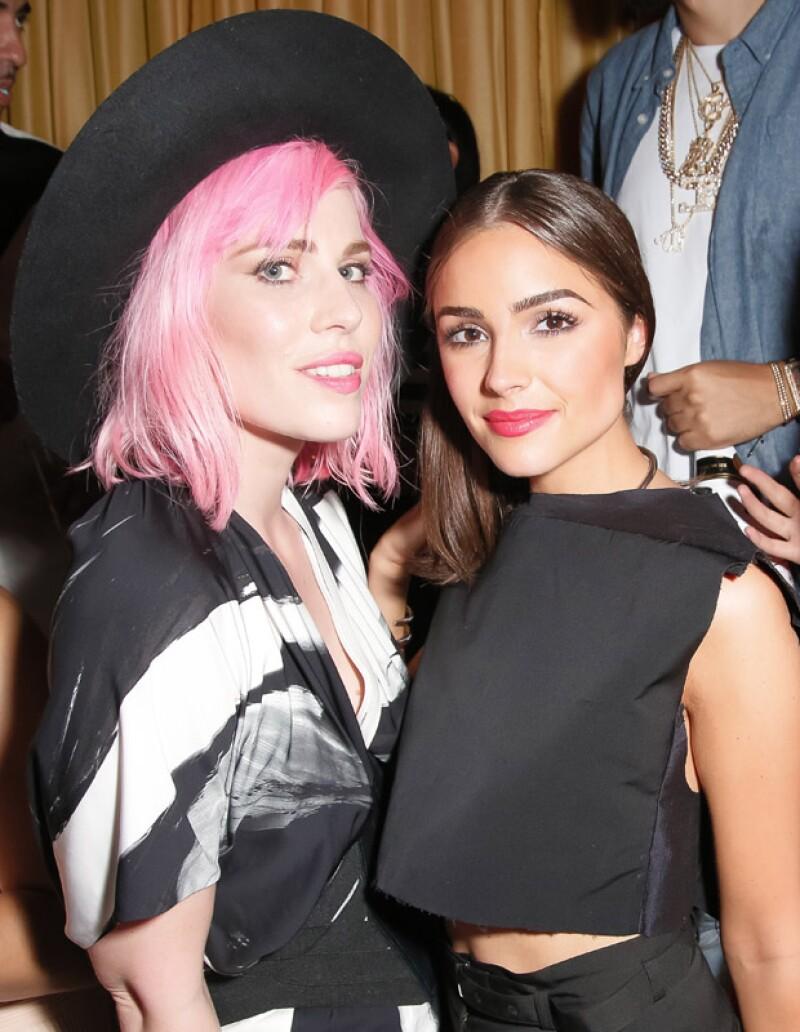 Natasha Bedingfield y Olivia Culpo