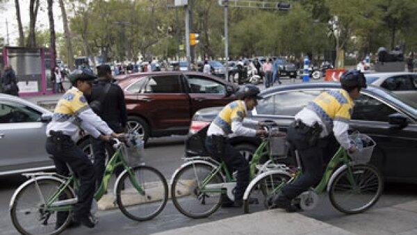 Este martes entra en vigor el nuevo reglamento de tránsito en el DF. (Foto: Cuartoscuro)