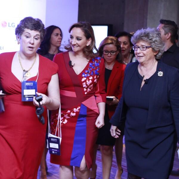 Durante el 27 y 28 de abril, un grupo de 50 mujeres líderes de México, Estados Unidos y América Latina en el mundo de los negocios, política, academia y dialogarán acerca de la inclusión de las mujeres en distintos ámbitos como las telecomunicaciones, finanzas y economía.