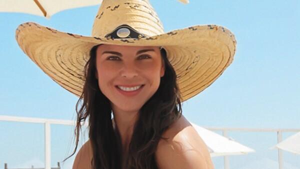 Kate del Castillo se divirtió mucho con sus mejores amigas.