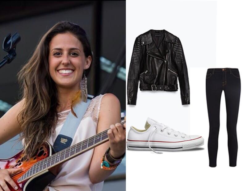 Alejandra Begún, 22, describe su estilo como muy casual y bohemio.