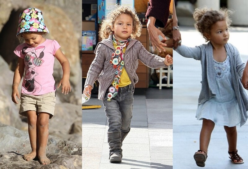 La hija de Halle Berry tiene un estilo muy divertido.