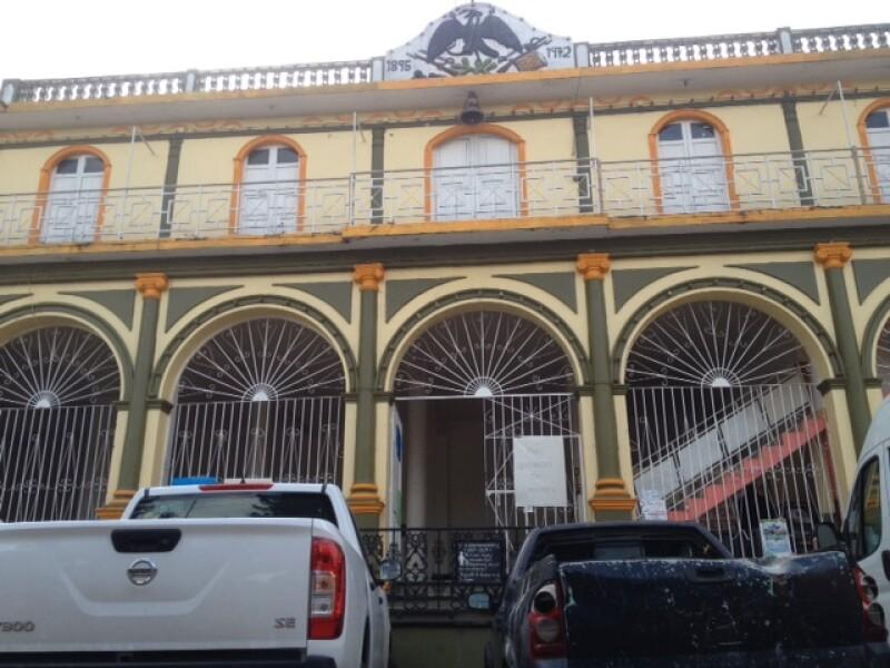 Palacio municipal Acatlán