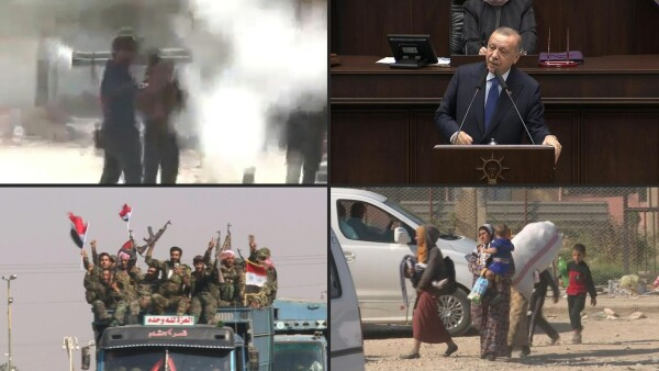 Turquía se niega a negociar con fuerzas kurdas