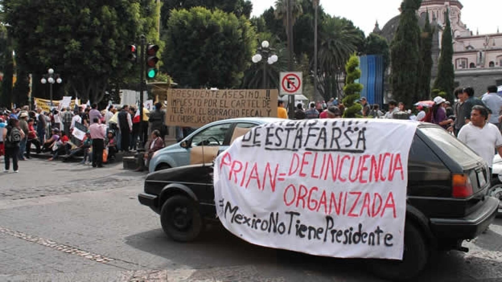 protestas contra peña nieto