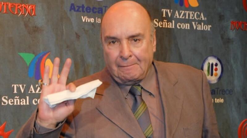 El actor mexicano durante la promoción de una telenovela en 2008; falleció este jueves de un infarto