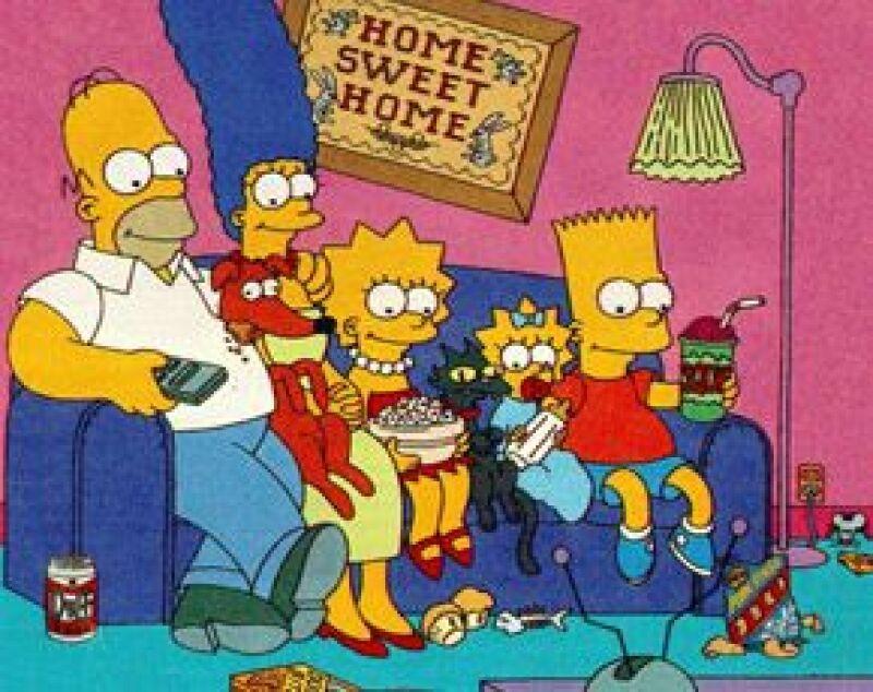 La famosa familia amarilla será honrada con sus propias estampillas, que costarán de 44 centavos de dólar.