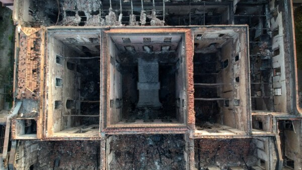 Las imágenes de la devastación del Museo Nacional de Brasil tras el incendio