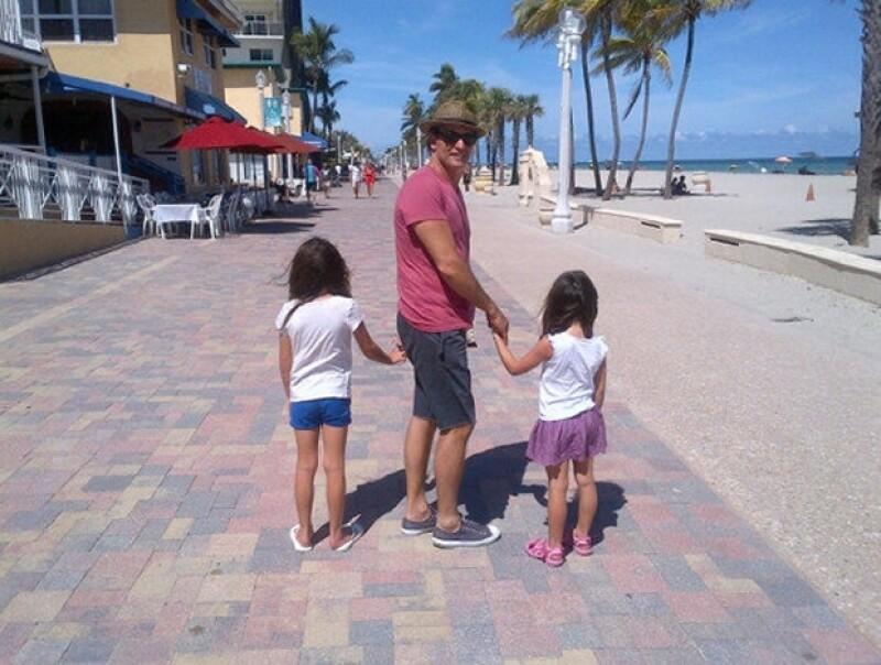 Maki y juan soler en familia y felices en miami for Chismes del medio del espectaculo