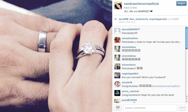 Los recién casados se demuestran su amor en las redes sociales, y revelaron el destino que eligieron para su luna de miel a través de varias fotografías.