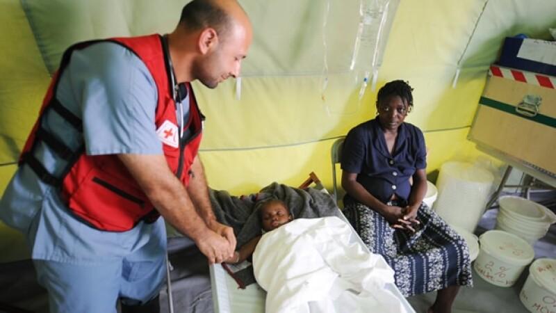 Haiti colera pacientes