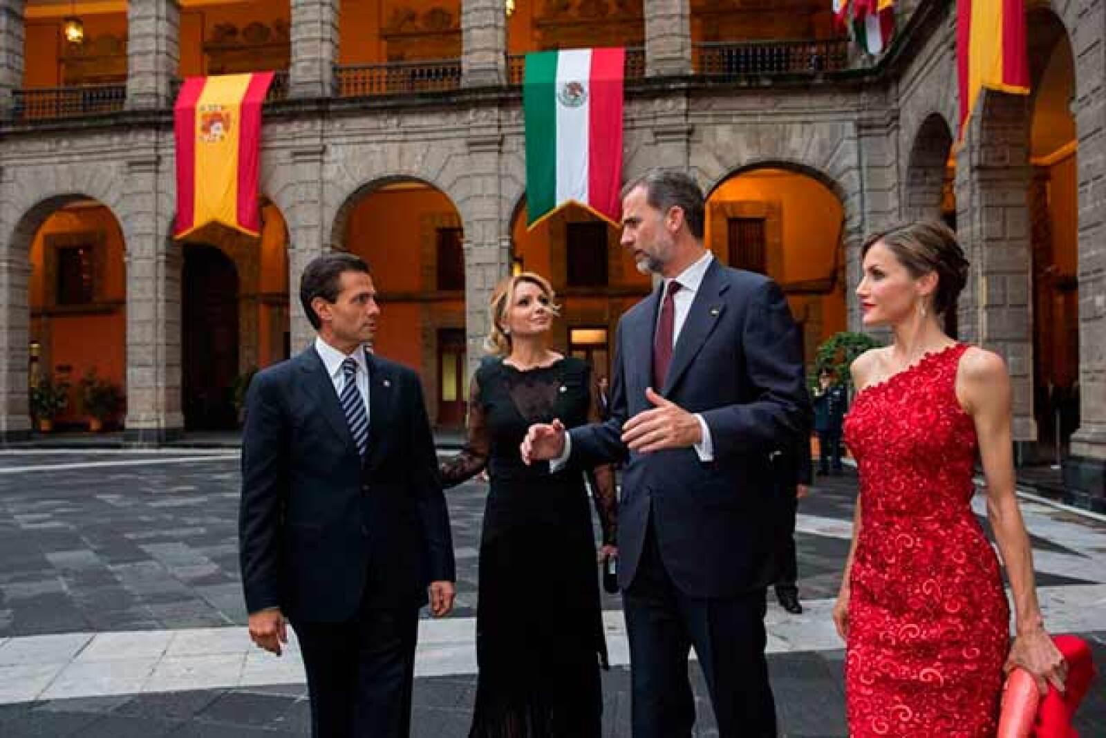 Durante una cena que ofreció a los reyes de España, Felipe VI y Letizia, el mandatario subrayó que México es y será siempre amigo y aliado estratégico de esa nación europea.