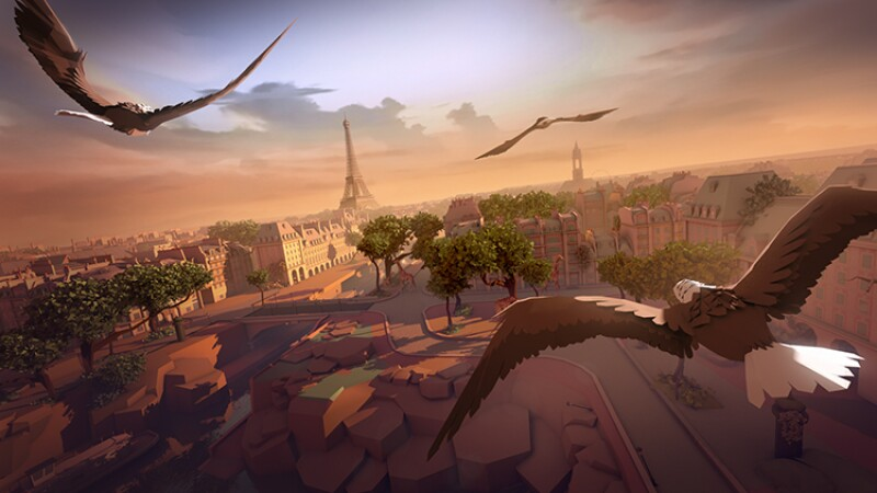 Eagle Flight es uno de los títulos elaborado en realidad virtual por parte de Ubisoft.