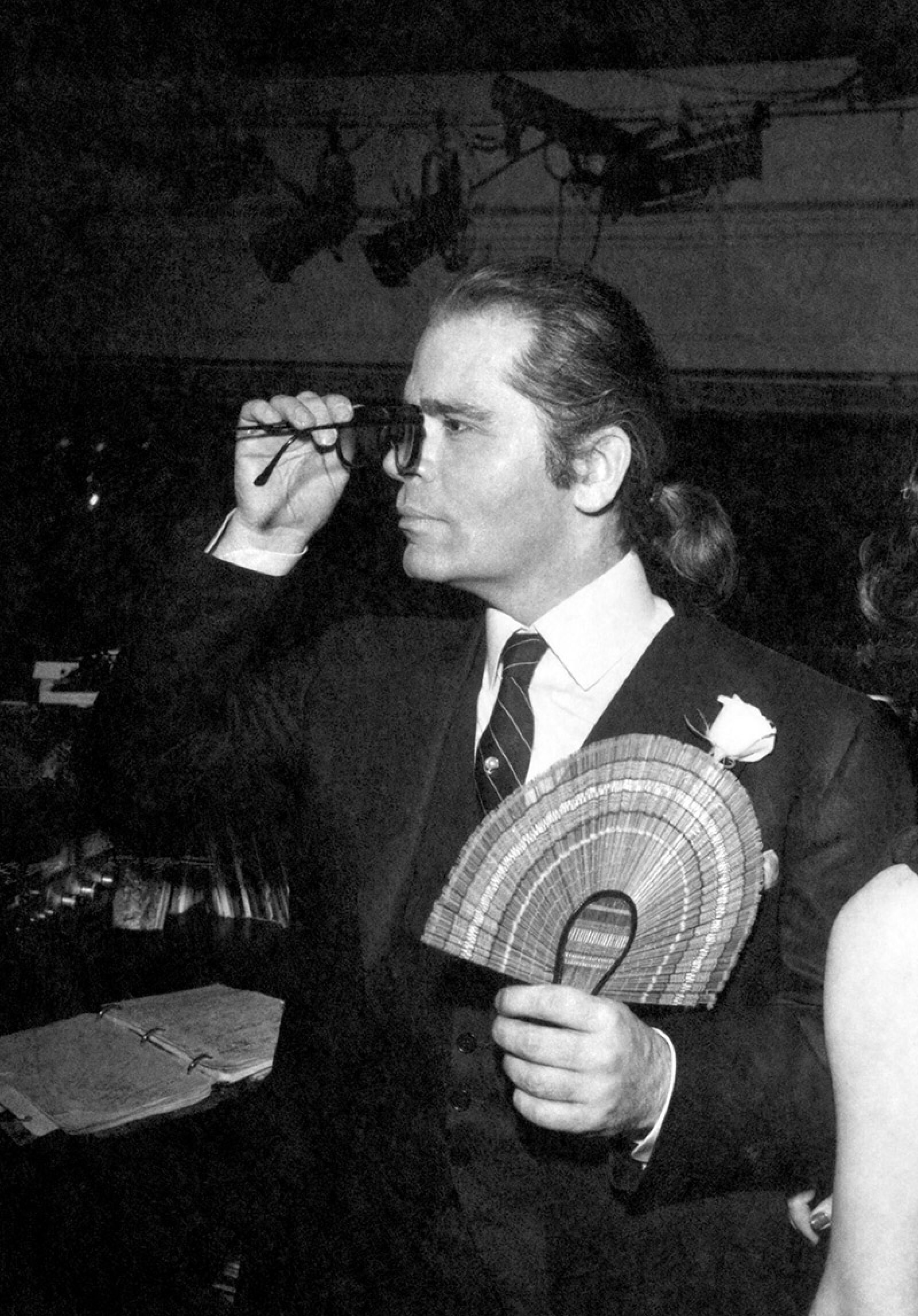 Lagerfeld Party at Studio 54