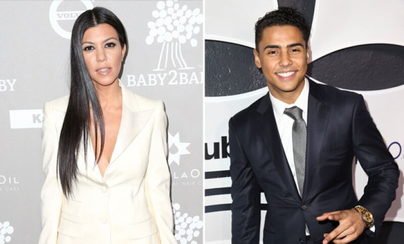 ¿Primero Justin Bieber y ahora el hijastro de P. Diddy? A la mayor de las Kardashian se le vio salir con el joven de 24 años.