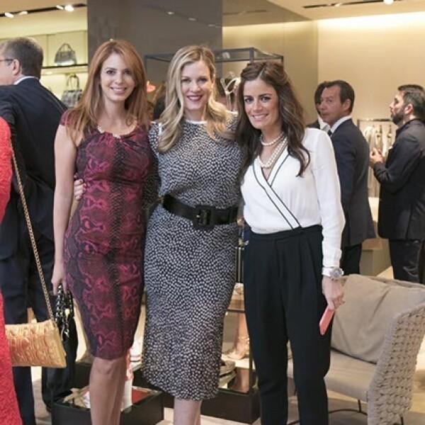 Cristina Oli,Rebeca de Alba y Sofia Karam