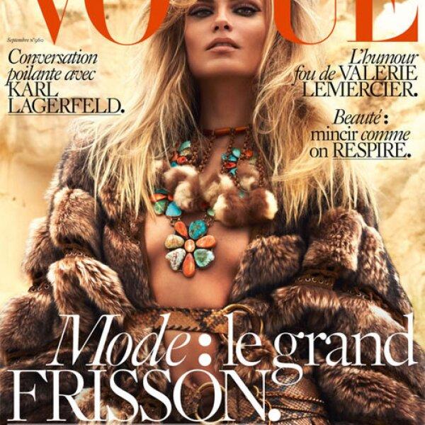 Natasha Poly es la it girl de Vogue Paris.