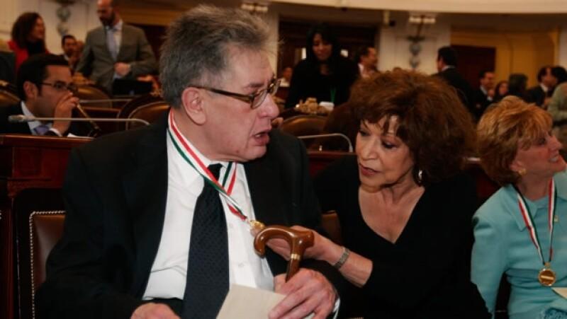 José Emilio y Cristina Pacheco