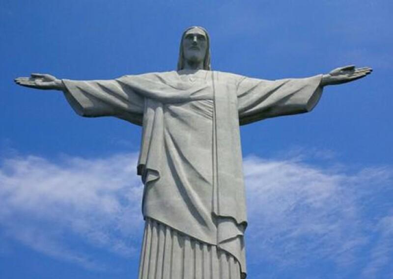 El Cristo Redentor es una de las atracciones más visitadas de la ciudad de Río y claro que Martha Debayle no se la podía perder.