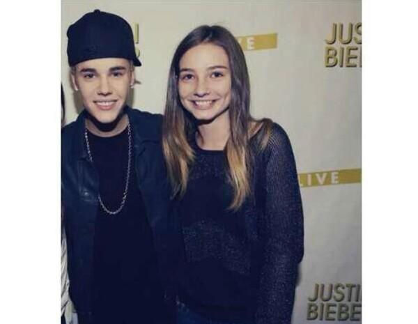 Meadow es admiradora de Justin Bieber.