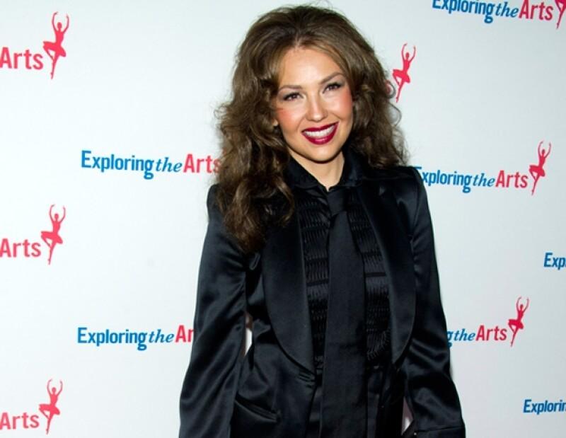 Thalia recibió elogios del cantante Michael Bublé.