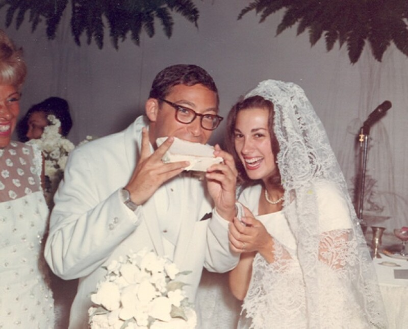 Una foto de la boda de Jane y Stuart