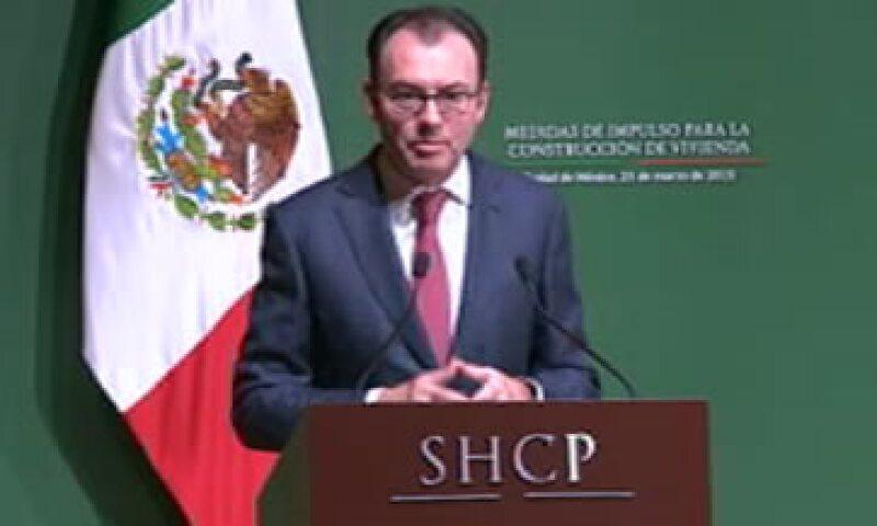 El mecanismo sólo beneficiará a los proveedores formales en la economía, dijo Videgaray. (Foto: Tomada de Youtube )