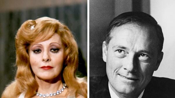 Silvia Pinal y Conrad Hilton, Jr.
