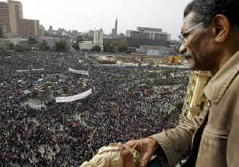 Las protestas en Egipto afectaron fuentes de divisas como el turismo y las remesas. (Foto: AP)