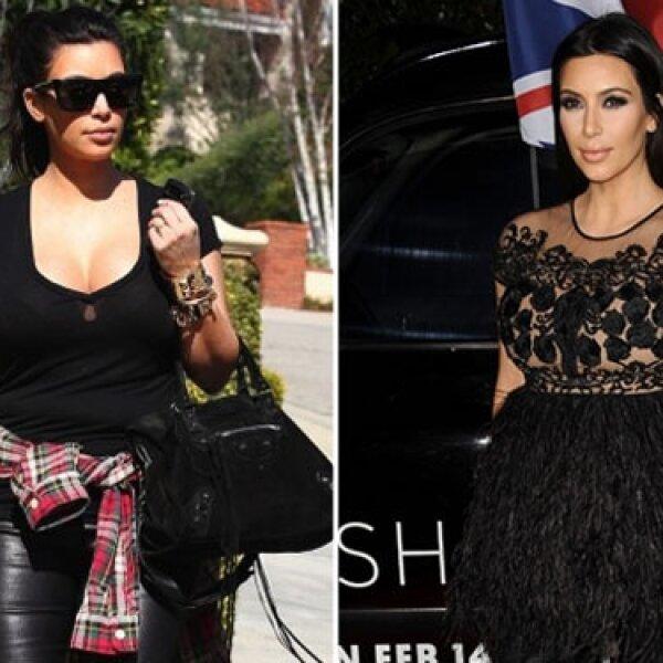 Se le vio varias veces en Beverly Hills paseando, siempre con ropa muy entallada.
