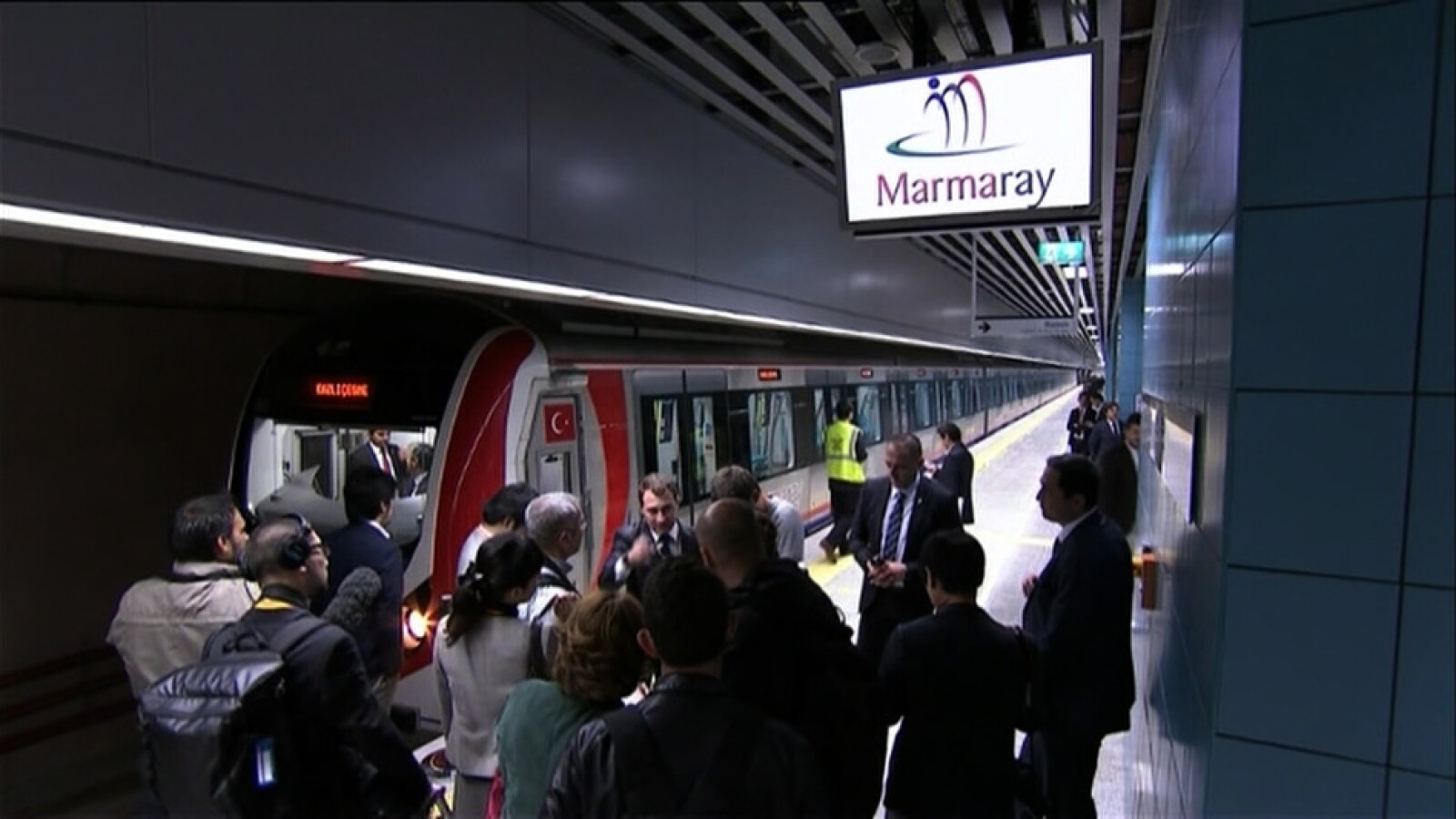 Marmaray tren Turquía 4