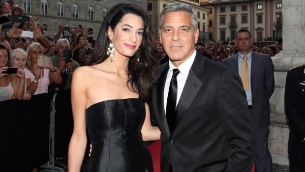 Amal Alamuddin y George Clooney se dieron el `sí´este sábado en Venecia.