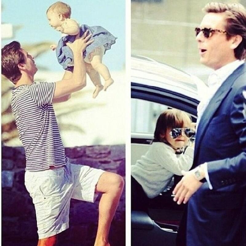 Scott es papá de los pequeños Penélope y Mason.