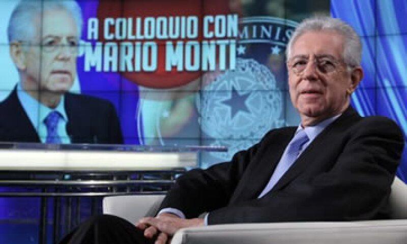 Los paquetes de austeridad han mermado la popularidad del recién inaugurado Gobierno de Mario Monti. (Foto: AP)
