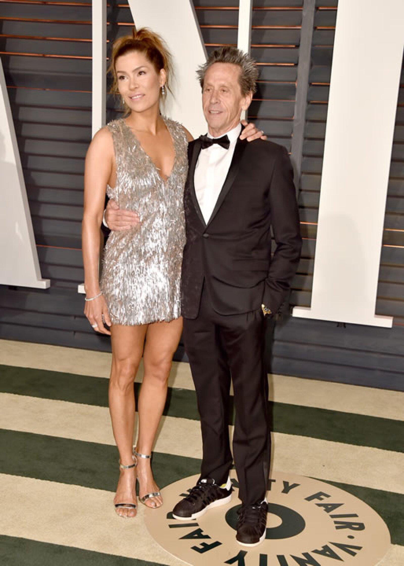 Veronica Smiley y Brian Grazer