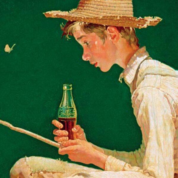 La primera de seis pinturas hechas por el artista Norteamericano Norman Rockwell, la cual hizo debut en el calendario de la compañía en 1935.