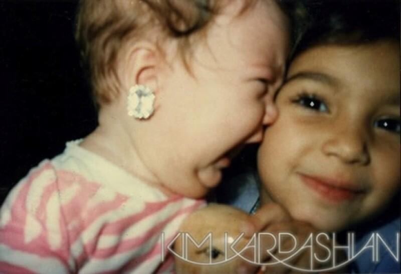 Khloe recordó su infancia juntas.