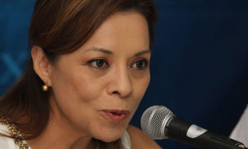 Los empresarios encuestados consideran que la principal fortaleza de Josefina Vázquez Mota, como precandidata del PAN a la presidencia, es ser mujer; pero también su astucia y su capacidad para conciliar. (Foto: Notimex)