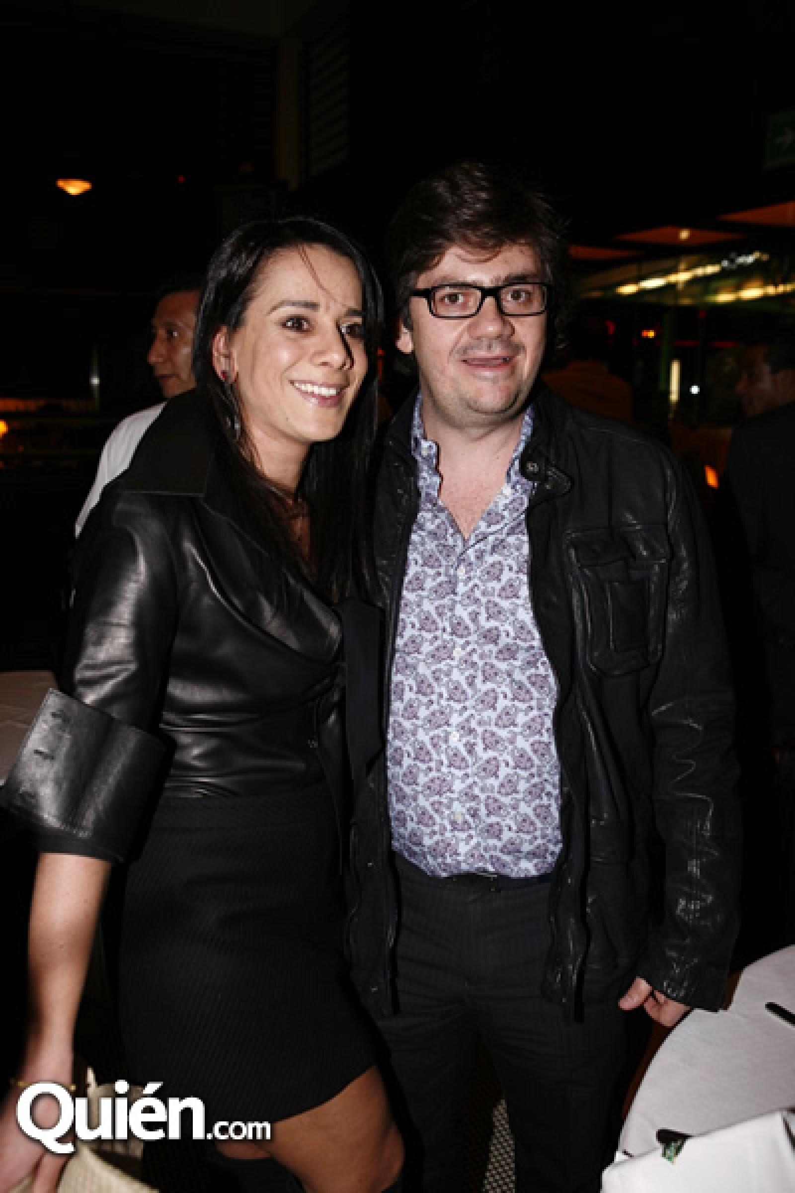 Aline y Alberto Simón